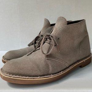 Clarks Canvas Chukka Boots